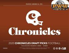 DETROIT LIONS 2020 Chronicles Draft Football 1/4 Case Break