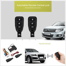 Car Suv Remote Central Kit Door Lock Locking Keyless Entry System Safety Remote