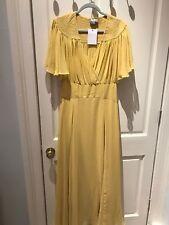 Asos Yellow Evening Maxi Dress 14