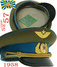 1958 M55 Sz57 Cap for the parade uniform Air Force officer USSR Soviet Army