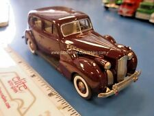 Rextoys 1940 Packard Super Eight in Burgundy 1:43 - Loose & Beautiful Condition