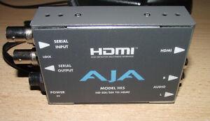 AJA Hi5 HD-SDI / Sdi Zu HDMI Konverter mit Netzteil