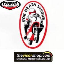 Bob Heath Casco de Motocicleta Visera caberg-sólo un BHV578 Plus (no js) Oscuro