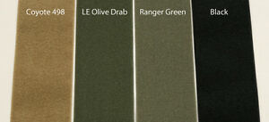4 Inch Military Spec Hook And Loop Coyote Ranger Green Black Wolf Grey Tan 499
