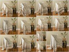 Telar a mano Alfombra De Picnic Manta de bloque de algodón impresa Sofá Con Manta Cobertor de Artes