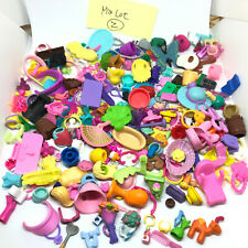 Polly Pockets Dolls Clothing Accessories Part Mixed Large Lot Over 120 Piece