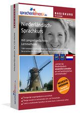 NIEDERLÄNDISCH-BASIS-Sprachkurs CD und Smartphoneversion - ERFOLGREICH lernen