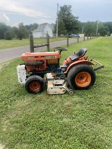 Kubota B6100 Tractor, Diesel, Belly Mower  Can Ship 650 lower 48