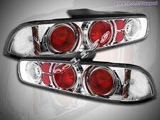 94-01 Acura Integra  Halo Tail Lights 2 Doors Chrome 00 99 98