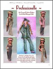 """Professionelle&#034 ; Original Fashion Pattern for Ellowyne"