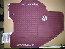 NEW FORD MERCURY MYSTIQUE FLOOR MATS RUBY RED 1995  00
