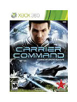 Carrier Command: Gaea Mission (Microsoft Xbox 360, 2012)