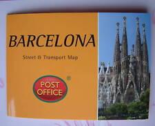 BARCELONA  Street Transport Map Pocket Guide Pop-Up NEW