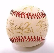 Ozzie Smith Whitey Herzog 1990 St Louis Cardinals Team Signed Autograph Baseball