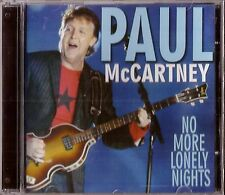 Paul McCartney CD No More Lonely Nights Brand New Sealed Rare