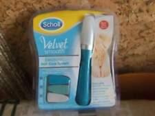 Scholl velvet smooth elettronico per unghie piedi e mani completo di limette