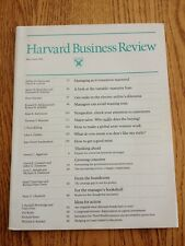 Harvard Business Review Magazine May - June 1982 Like New