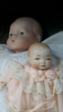 """Tony Young 16"""" Doll Dream Baby with Small 6"""" Baby Doll"""