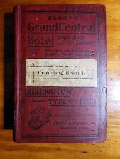 Pugh's (Queensland) Official Almanac, Directory and Gazetteer, for 1912.
