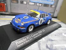 PORSCHE 911 Carrera RSR 2.8 Daytona 1973 #6 Donohue Follm Sunoco Minichamps 1:43