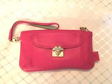 JUICY COUTURE Authentic Pink Leather Wristlet