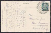 DR Mi Nr. 516 EF AK sächs. Schweiz mit PST u. SST Königstein - Neuuendorf 1937