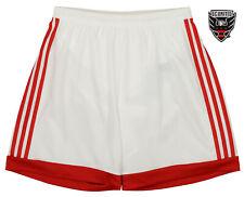 adidas MLS Men's Adizero Team Color Short, D.C United- White