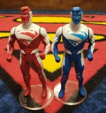 2 pack Custom Super Powers Superman 3 Evil /& regular Christopher Reeve Version