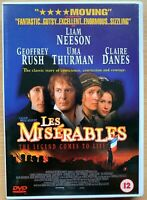 Les Miserables DVD 1998 Victor Hugo Liam Neeson Drama Classic Film Movie
