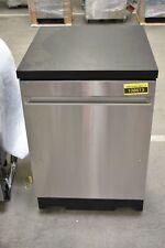 """Ge Gpt225Sslss 24"""" Stainless Portable Dishwasher Nob #108613"""