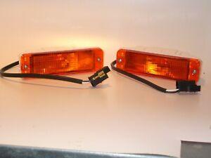 2 Blinker VW Golf 2, Bj. 83 - 89, schmale Stoßstange, ORANGE, NEU