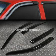 For 03-07 Accord 4Dr Cm Smoke Tint Window Visor/Wind Deflector Vent Rain Guard (Fits: Honda)