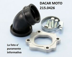 215.0426 Manifold Carburettor POLINI Benelli Naked 50 - Pepe 50