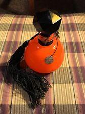 1920's Orange Cased Glass Depinoix Marquis Brise De Monte Carlo Perfume Bottle
