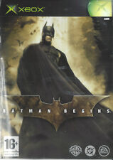BATMAN BEGINS for Xbox - with box & manual - PAL