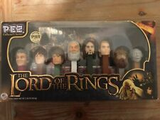 Lord of the Rings Pez Collectors Series Limited Edition 8 Characters