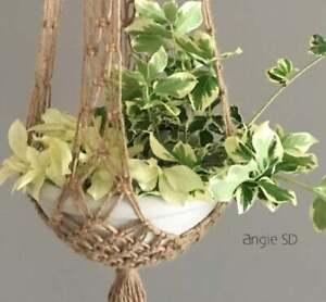Vintage Plant Hanger/ Macrame Plant Hanger/ Home decor/ Boho Hippie Bohemian