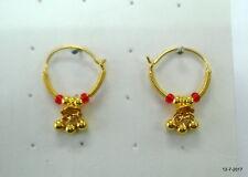 ear earrings infant hoop earrings traditional design 18kt gold earrings upper
