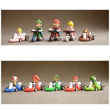 Super Mario Kart Wii 10 Characters Go Kart Pull Back Nintendo TOMY Xmas Gifts