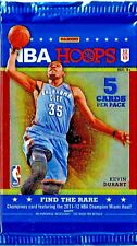 2012-2013 NBA Hoops Basketball 5 card pack Davis Lillard Irving Williams Selby