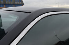 PORTA LATERALE CROMO Window Sill Copertine Trim Set per adattarsi FORD FOCUS (2011+)