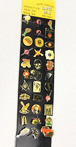 Eclectic set of 33 Vintage Lapel Pins