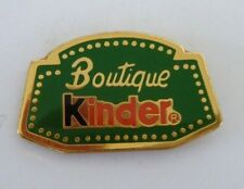 Superbe Pins KINDER Boutique Chocolat #P04