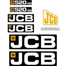 JCB 409B Decals Stickers Kit New Repro Decals Laminated Wheel Loader