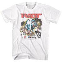 RATT Electrifying Rat Men's T Shirt Rock Band Album Cover Art Concert Tour Merch