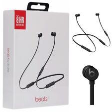 Beats by Dre BeatsX Bluetooth Wireless Headphones 2018, Black, MTH52LL/A Openbox