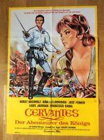 Cervantes (Kinoplakat '68) - Horst Buchholz / Gina Lollobrigida / José Ferrer