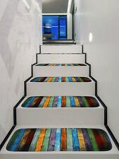 Soft Shaggy Carpet Stair Treads NON-SLIP MACHINE WASHABLE Mat/Rug 10pcs 22x70cm