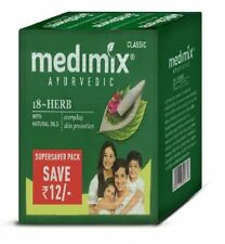 Medimix Ayurvedic Classic 18 Herbs Soap 125gm Each Skin Care Free Shipping