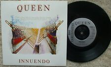 Queen - Innuendo / Bijou - Silver Injection labels NM 45 + Pic Sleeve Queen 16